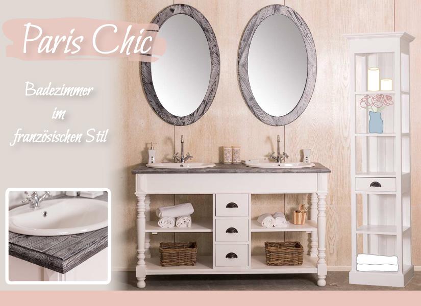 Paris Chic - Badezimmer im französichen Stil