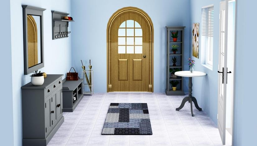 massive dielenm bel im landhausstil coburg landhausm. Black Bedroom Furniture Sets. Home Design Ideas