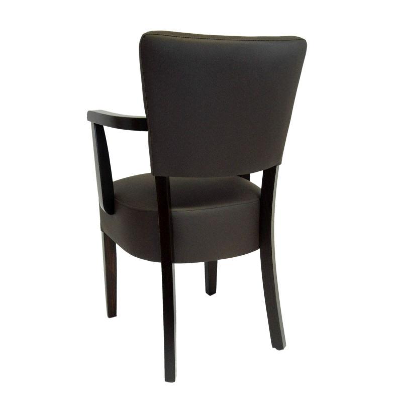 polsterstuhl costa mit eckieger armlehne ihr onlineshop. Black Bedroom Furniture Sets. Home Design Ideas