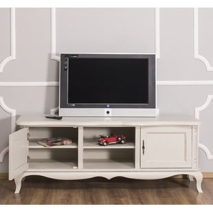 Graues TV Sideboad Shabby Chic