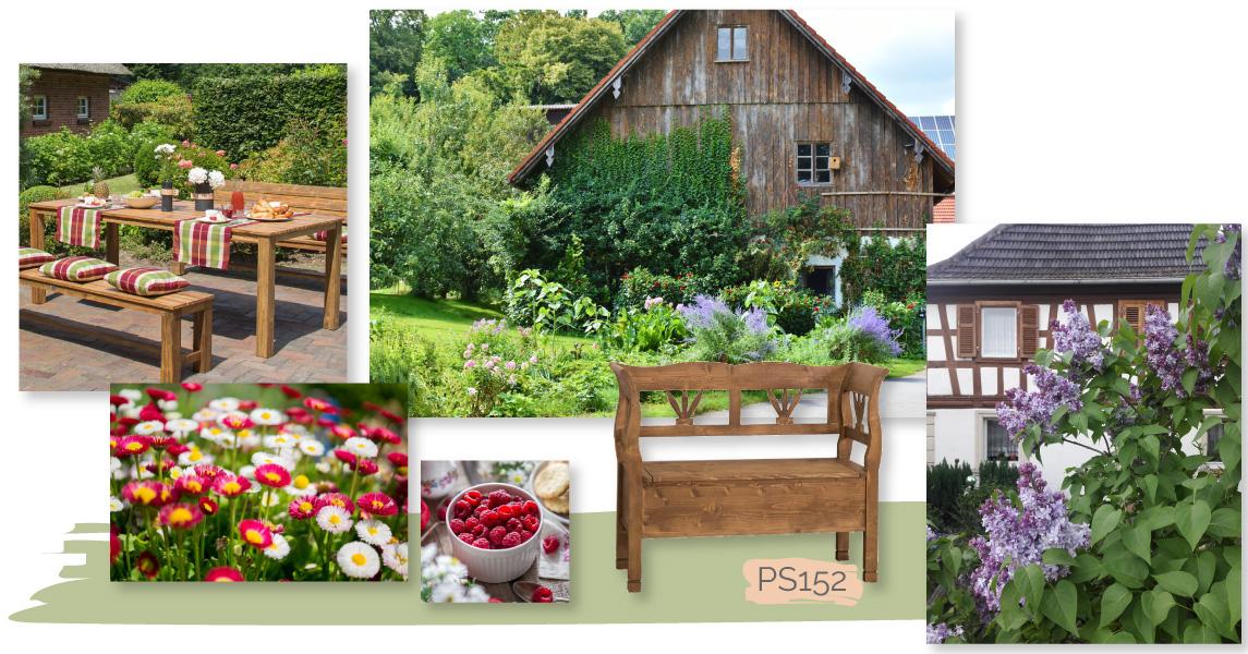 Hervorragend Romantischer Landhausgarten: Ideen zum Anlegen und Gestalten - News FG22