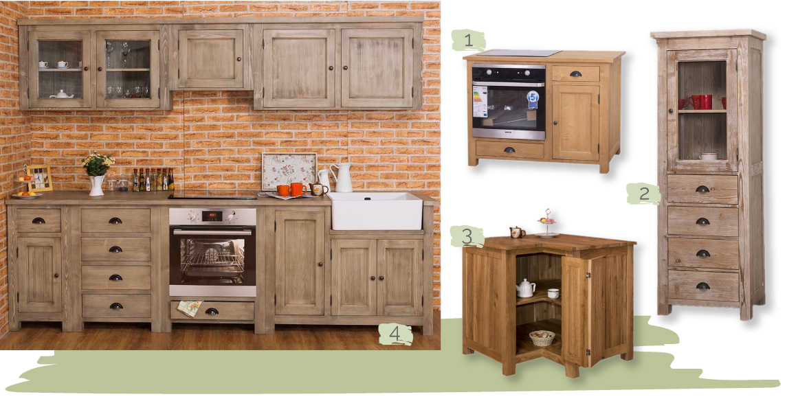 Küchen im Landhausstil – Gestaltungs- und Einrichtungsideen ...